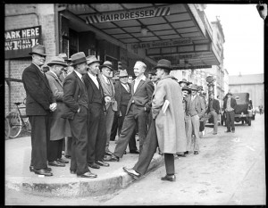 Phillip Street Sydney 1930s depression