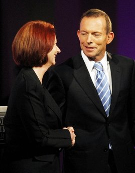 PM Gillard & Tony Abbott