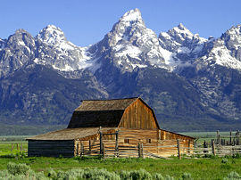 Grand Tetons from Jackson Hole