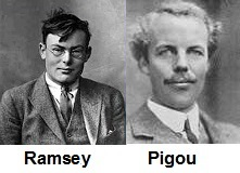 Ramsey and Pigou