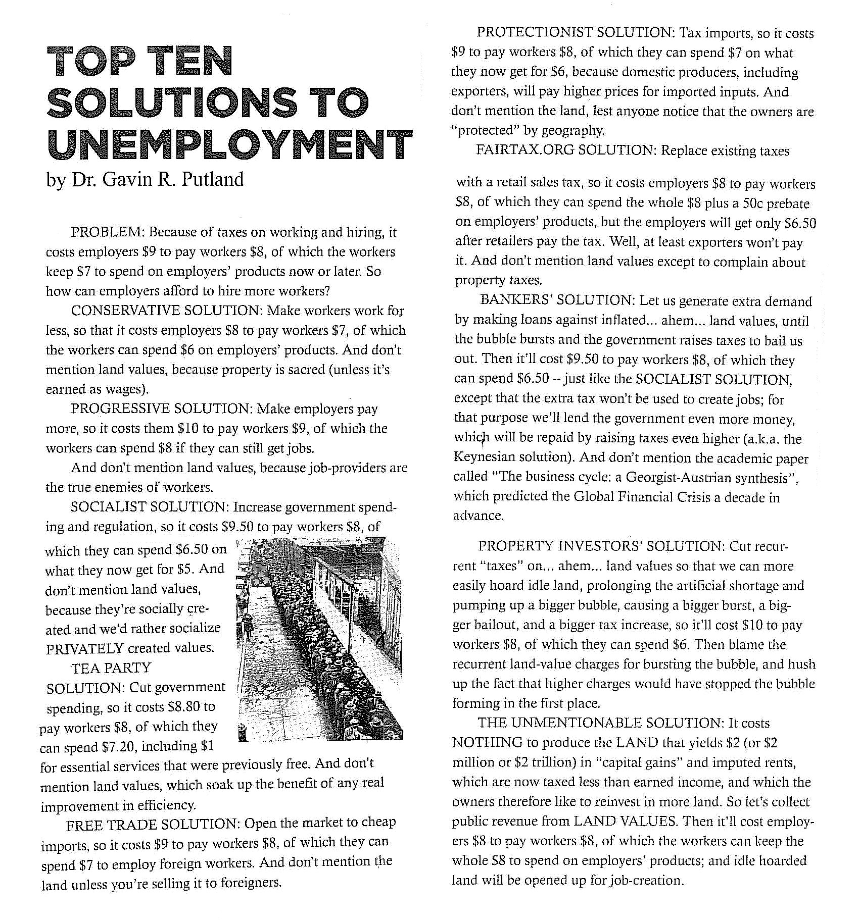 putland-top-ten-solutions-to-unemployment-2011