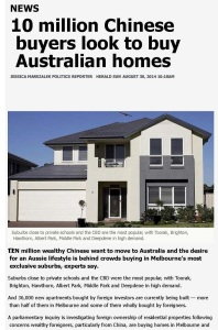 10 million Chinese buyers look to buy Australian homes _ Herald Sun_Page_1