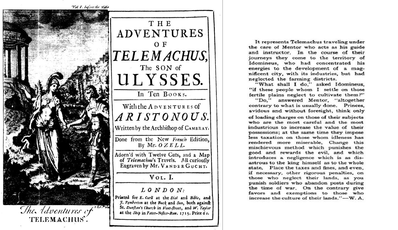 Francois Fenelon Telemachus