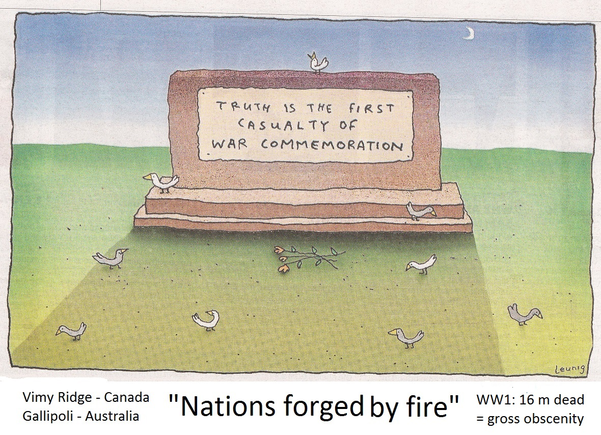 remembering war