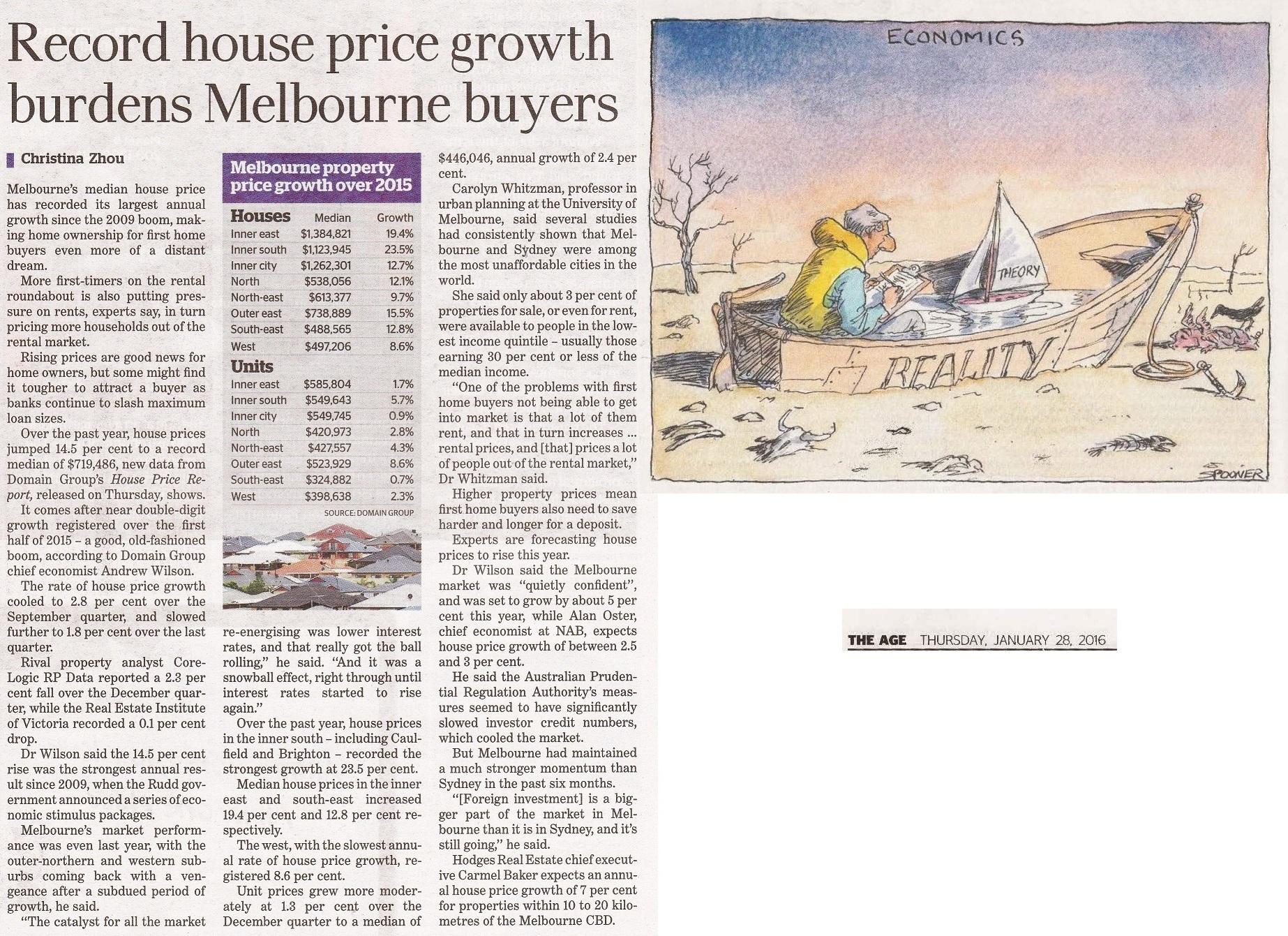 high property price affecting rental market