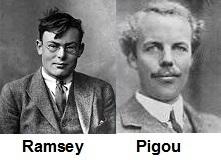 Ramsey and Pigou