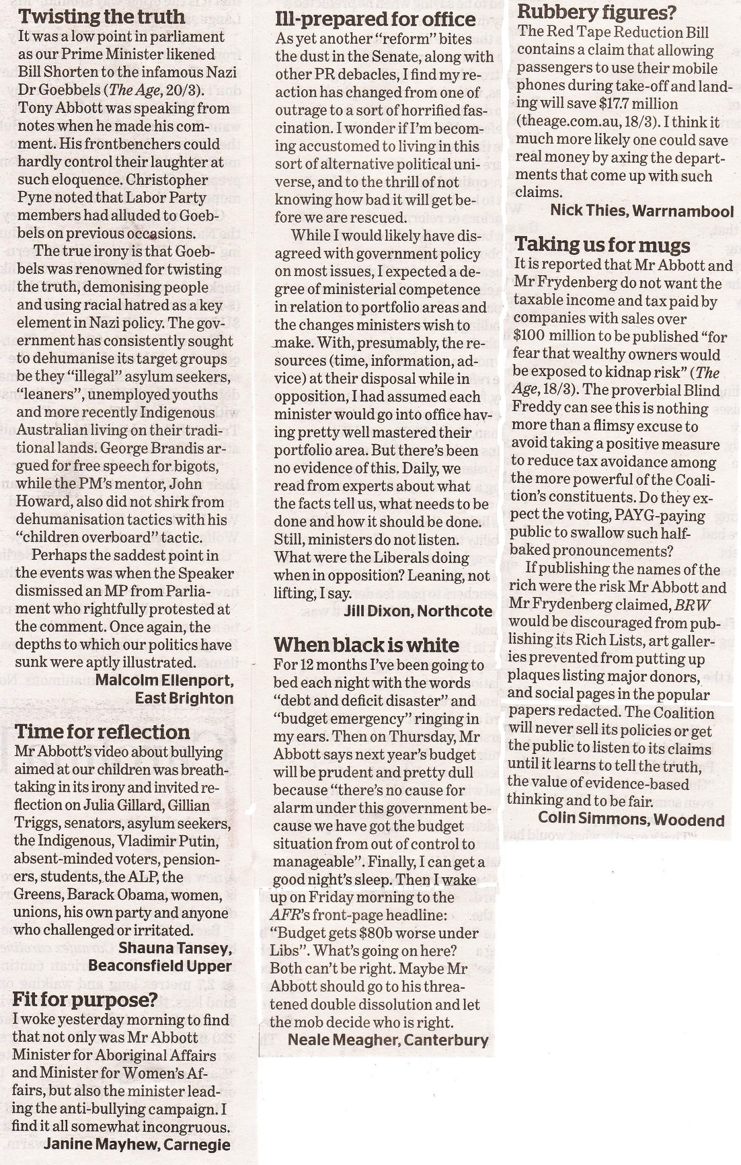 AGE letters 21-3-15