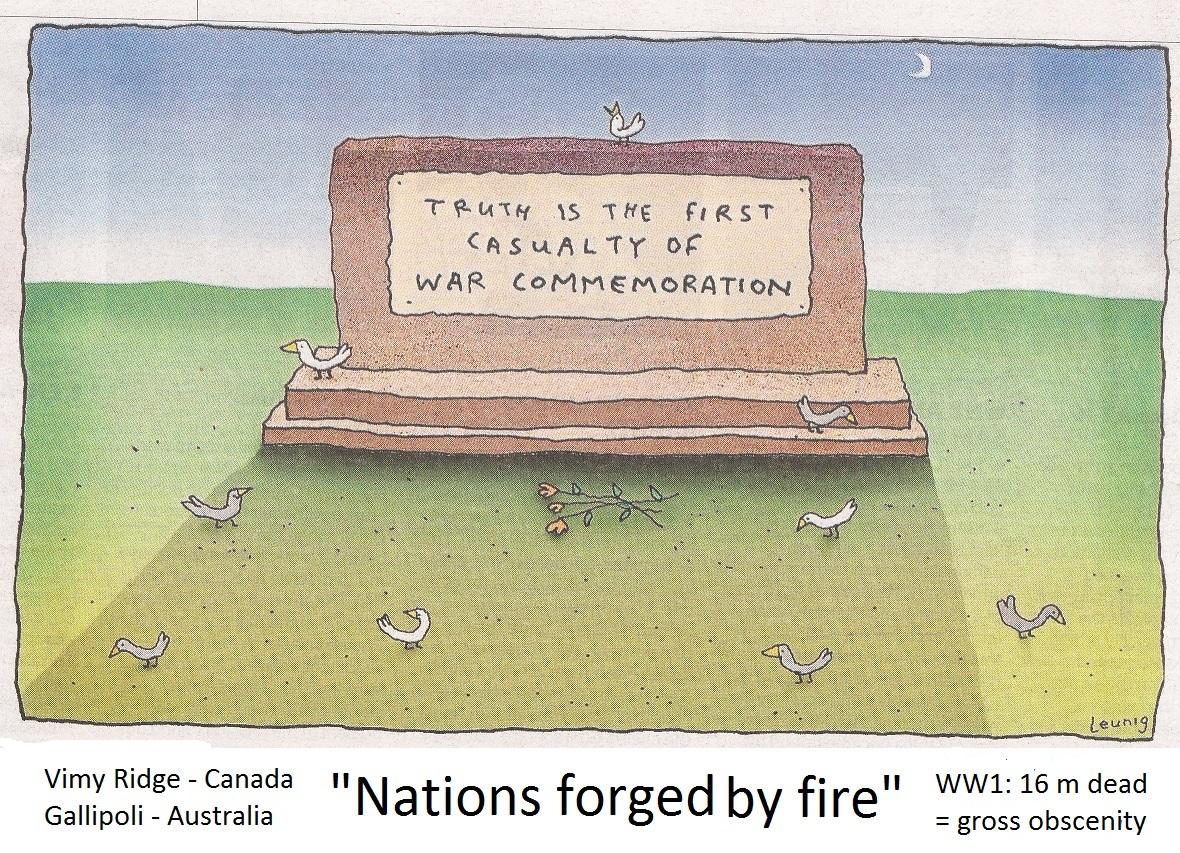 remembering war