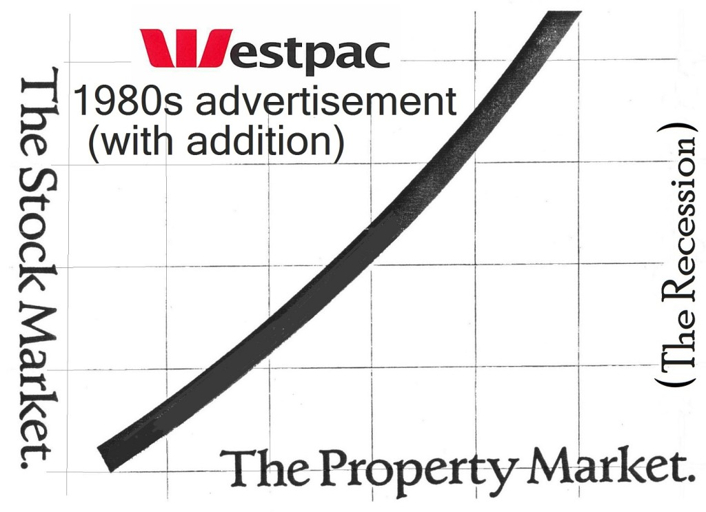 Westpac ad and addition 1980s