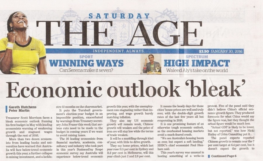 THE AGE 30 Jan