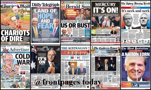frontpagestoday